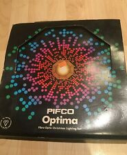 Vintage PIFCO Optima Fibre Optic Christmas Lights - Boxed, Working