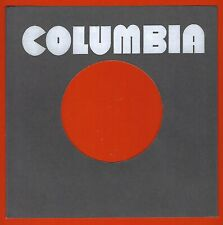 COLUMBIA (charcoal grey/back) REPRODUCTION RECORD COMPANY SLEEVES (pack of 10)