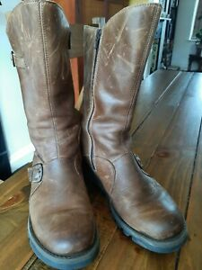 Fly London Mes 2 Mid Calf Boots Chestnut Size 8 (41)