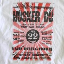 Husker Du Rock Poster XL Shirt KRVM Eugene Oregon New Day Rising (2016)