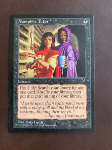 MTG Instant VAMPIRIC TUTOR from VISIONS - NM / UnPlayed Rare card