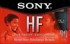 Sony HF 90 ~ Normal Bias Type I High Fidelity Audio Cassette Tape ~ New Sealed