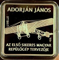 HUNGARY 1000 forint  Airplane  'Libelle'  Proof Commemorative coin  2007