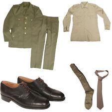 Lotto esercito stock divisa drop scarpe da ufficiali calzini camicia e cravatta