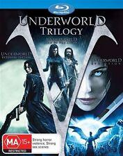 Underworld / Underworld - Evolution / Underworld - Rise Of The Lycans (Blu-ray,