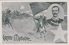 # MILITARI WWI - VITTORIO EMANUELE III E LE GRANDI MANOVRE