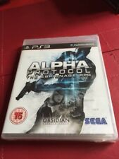 ALPHA PROTOCOL: THE ESPIONAGE RPG -  PS3 ~ NEW Factory SEALED