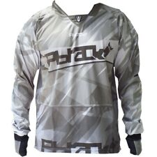 Pbrack Ultra Flow Paintball Jersey (White)