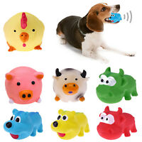 Pet Dog Toy Funny Puppy Chewing Tool Play Squeaker Sound Toys Animal Shape