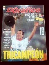 NACIONAL de MONTEVIDEO TRICHAMPION - El Grafico magazine 1990's