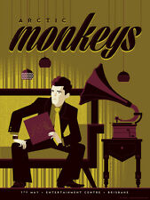 Arctic Monkeys Concert Poster - Guy - Tom Whalen - AP - Limited Edition of 12