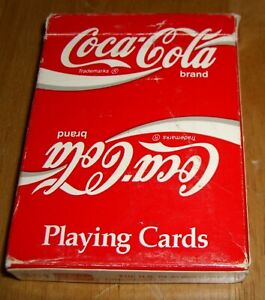 Vintage Coca Cola Playing Cards Poker Casino Games Collectible