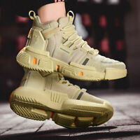 Men's High Top Shoes Athletic Sneakers Sports Fashion Breathable  Casual Shoes