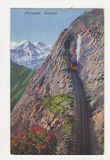 Pilatusbahn Eselwand Vintage Postcard Switzerland 389a