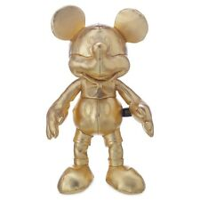 Gold Mickey Mouse Plush Small