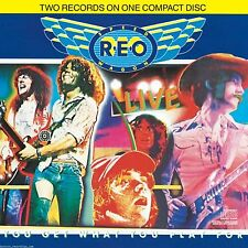 REO SPEEDWAGON - Live-You Get What You Play For [CD New]