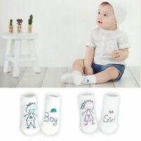 fille, garçon bébé les enfants le coton 0-4y bébé bambin de chaussettes cartoon