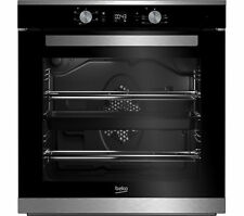 Single Oven Electric Built In Integrated Black Fan Assisted BEKO BXIF35300X