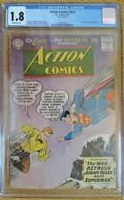 Action Comics #253 (DC, 6/69) CGC 1.8 GD- (2nd appearance of Supergirl!) KEY