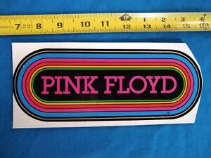 Pink Floyd Original KLOS 95.5 Vintage 80's Rainbow Bumper Sticker