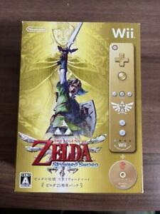 The Legend of ZELDA Skyward Sword 25th Anniversary Limited Edition Nintendo Wii