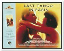 LAST TANGO IN PARIS -Original 20th Ann British Quad video poster - MARLON BRANDO
