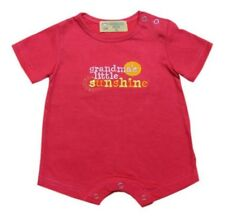 Fuchsia Grandma's Little Sunshine Romper Infant/Baby Girl Clothes, Size: 3 mos