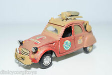 POLISTIL S30 S 30 S-30 CITROEN 2CV RAID RED EXCELLENT CONDITION