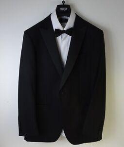 Marks & Spencer Autograph Mens Evening Suit Black Size 40 Chest 32 Waist 31 Leg