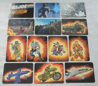 Lot Series 1 1986 GI Joe Cobra Figure Vehicle Action Trading Card Set Check List