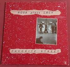 ROVA SAXOPHONE QUARTET LP ORI ITA FAVORITE STREET  PLAYS STEVE LACY