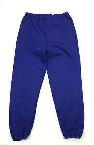 Vintage Russell Athletic Purple Fleece Jogger Sweatpants Pants XL Adult