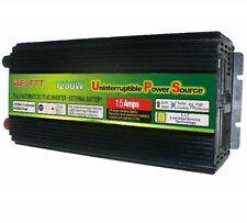 LED display 1200Watts 24V to 220V Power Inverter+Charger & UPS For Solar/Wind