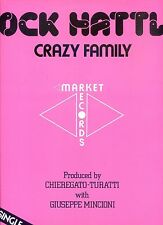 JACK HATTLE crazy family 12INCH 33RPM ITALY 1983 EX