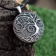 Jewelry Mother Day Gift Viking Celtic Tree of Life Goth Pendant Necklace Women