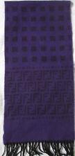 -Superbe Écharpe  FENDI  laine TBEG  vintage scarf  32 x 140 cm