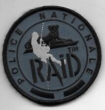 FRANCE RAID TIH POLICE BLUE PATCH