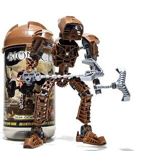 LEGO Bionicle Toa Metru 8604: Onewa w/ Canister & Instructions