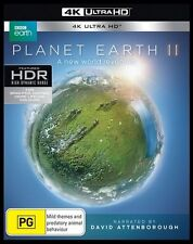 Planet Earth II (David Attenborough) 4K Blu-Ray + UHD + UV : NEW 4K Ultra HD