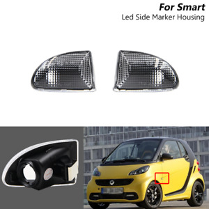 Clear OEM # A4519067700 Side Marker Light For Smart Fortwo W451 MK1 & MKII 07-15