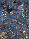 2Absolutely+Broken+Vintage+Rhinestone+Parts+%26+Pieces+for+Crafts+Parts+not+Repair