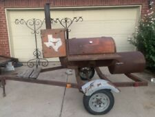 Bbq Smoker Grill Trailer Catering Food Truck Concession Business Cart Mobile