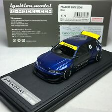 1/43 HPI IG Ignition PANDEM Honda CIVIC (EG6) Blue IG1173