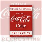 Coca-Cola Coke Deck Playing Cards Poker Size USPCC Custom Limited Ed. New Sealed
