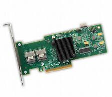 LSI SAS 9210-8i 8-port 6Gb/s PCIe HBA w/ RAID High & Low-Profile Brackets SATA