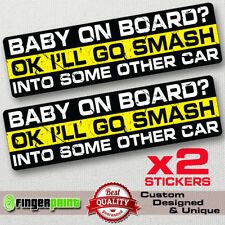 Smash Other Car decal sticker vinyl funny bumper window jdm Jeep 4X4 drift dodge