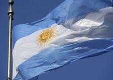 RUSSIA WORLD CUP 2018 GIANT FLAG OF ARGENTINA Bandera Oficial de Ceremonia