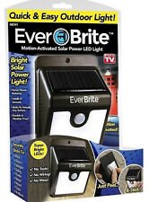 EVER BRITE - MOTION-ACTIVATED SOLAR POWER LED LIGHT - AS SEEN ON TV