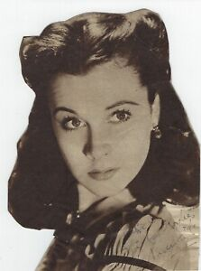 VIVIEN LEIGH Signed Portrait from Gone With the Wind AUTHENTIC AUTOGRAPH