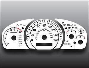 2003-2005 Honda Accord EX Sedan Auto Dash Instrument Cluster White Face Gauges
